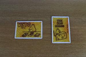 アナログゲーム ビックチーズ 特別な仕事カード
